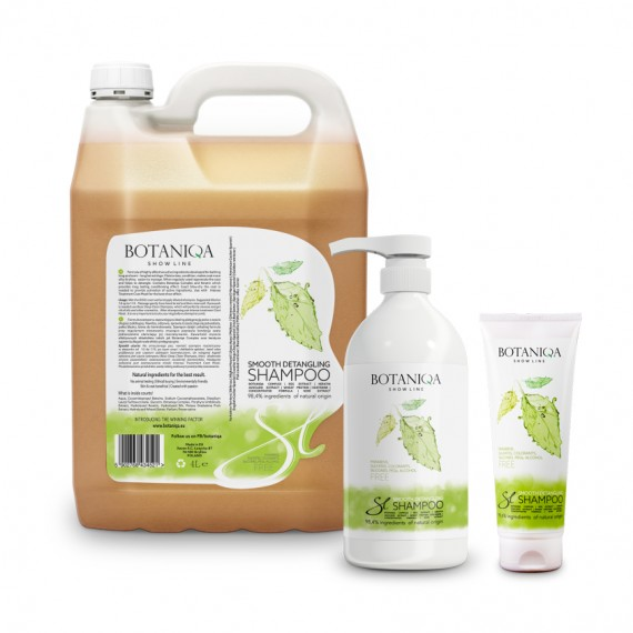 BOTANIQA Show Line Smooth Detangling Shampoo formati