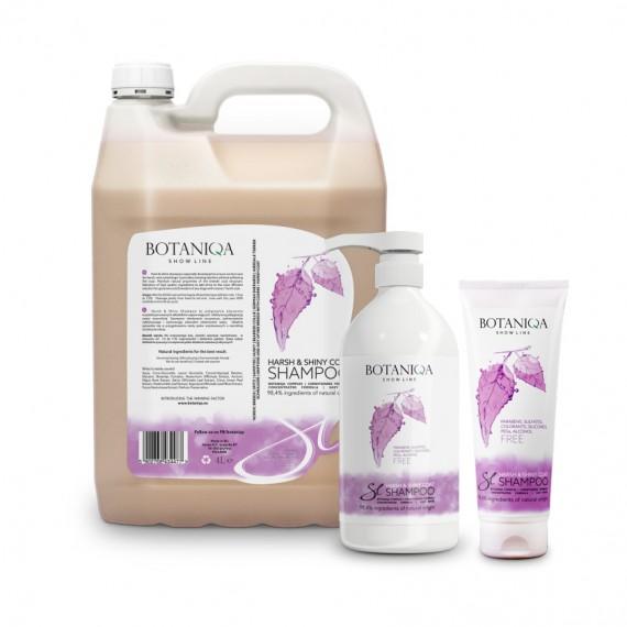 BOTANIQA Show  Line Harsh & Shiny Coat Shampoo formati