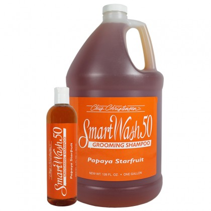 Chris Christensen Smart Wash 50 Papaya Starfruit Shampoo formati
